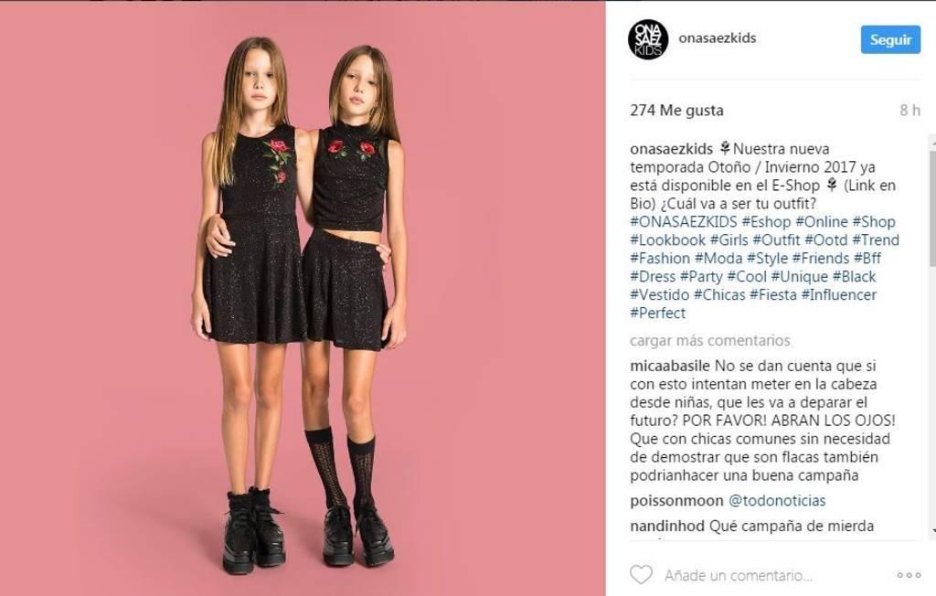 Retiraron una campaña tras fuertes críticas en las redes sociales ...